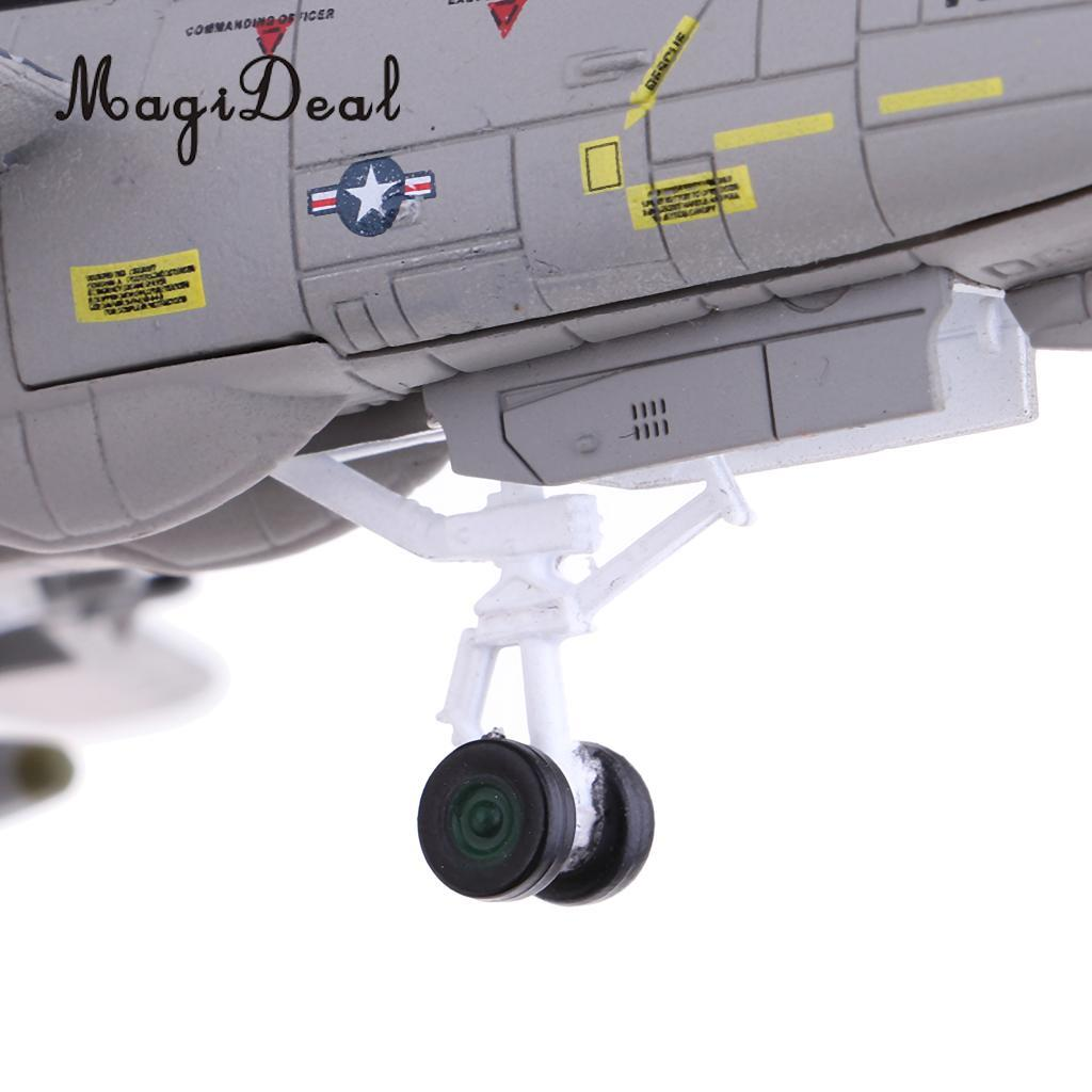 MagiDeal 1:100 Scale Alloy American F-14 Airplane Aircraft Fighter Toy Model Diecast Plane Model Toy Home Decor Collectables