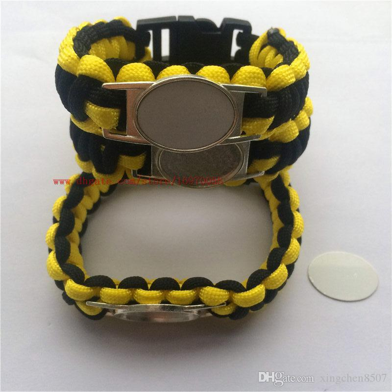 new arrival sublimation blank bracelets hot transfer printing knitted rope bracelet custom diy blank jewelry consumables