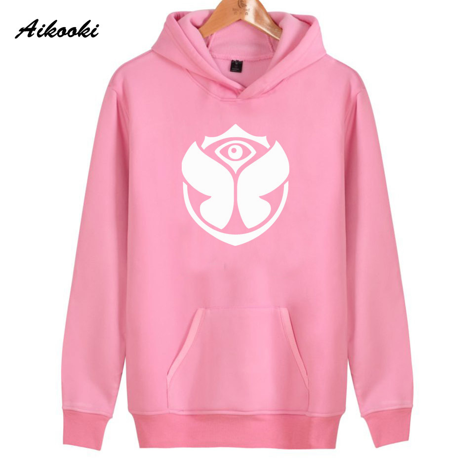 2019 new Tomorrowland Rock Hoodies Women/men Pink Cotton Harajuku Women's Hoodies And Sweatshirt Tomorrowland Hoody Clothes