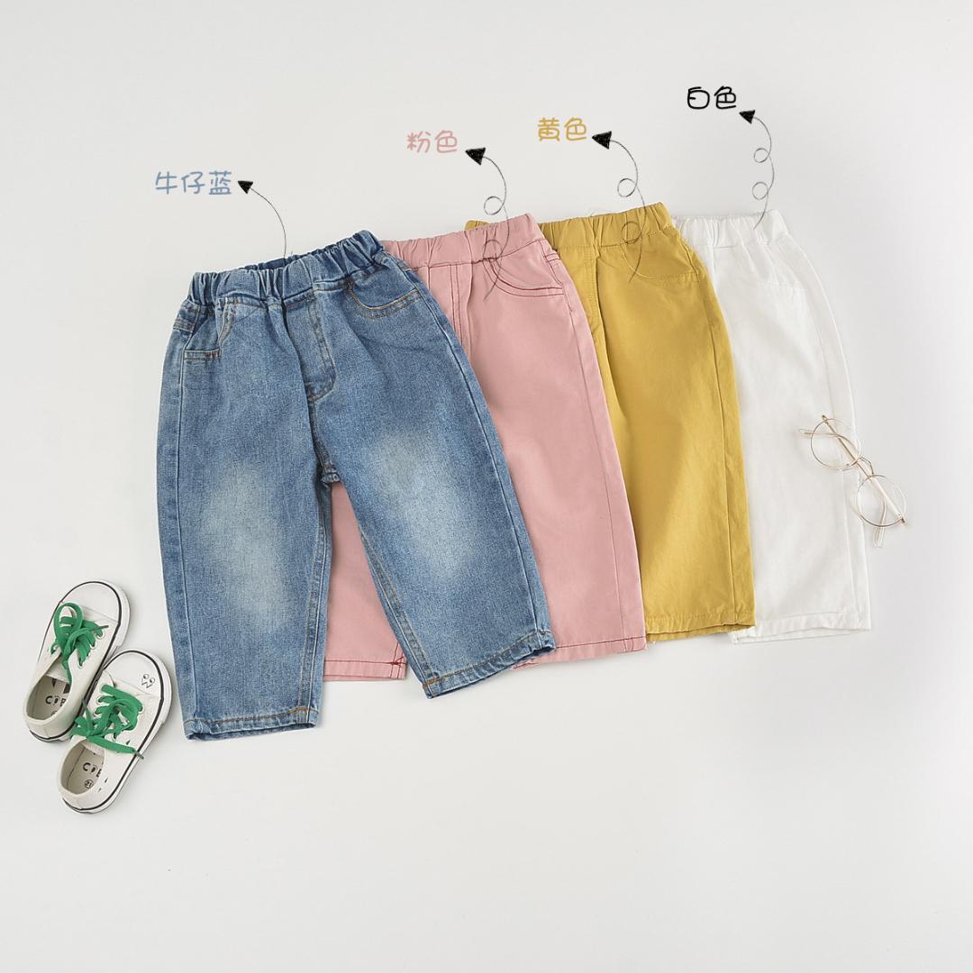 Unisex Kids Todder Baby Boys Girls Corduroy Pants Loose Casual Elastic Waist Fit Harem Pants