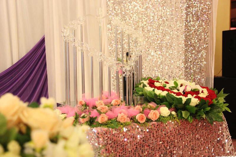 Flone High Quality Artificial Flower Head Retro Rose Head Silk Flower Wedding Christmas Party Decor Flores (2)