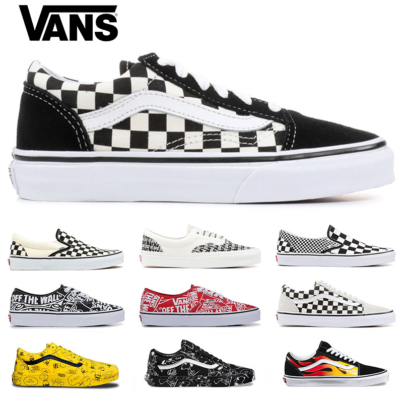 Compre 2019 Vans Old Skool Classic Hombres Mujeres