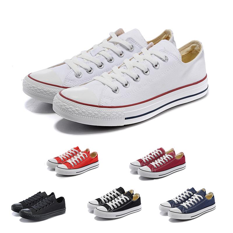converse 2019 Toile des années 1970 Star Ox Designer Chaussures de luxe Salut Reconstruit Slam Jam Noir Reveal Blanc Hommes Femmes Sport Sneaker 36 44