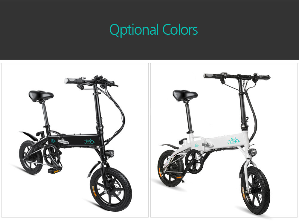 Fiido D1 Foldable Electric Scooter 2 Wheel Electric Bicycle 24V 250W Dual Brake System Portable Mini Folding Electric Bikes (1)