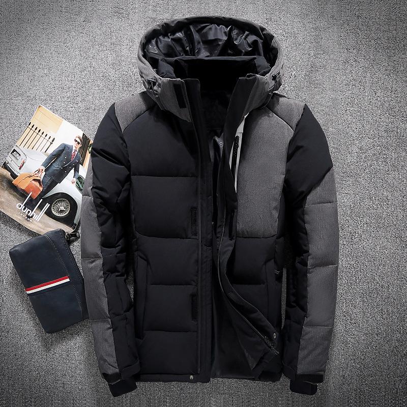Für Kanada Qualität Männer Daunenjacke Monclair Winterjacken Bomberjacke Outdoor Herren Schlank Kurze Großhandel Verdickte Jugendlich Unten Hohe BerdoCx