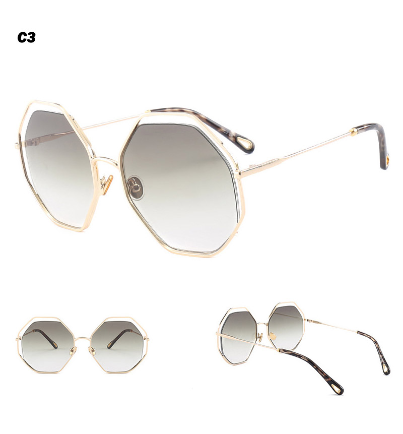 2018 News Goggle Rimless Sunglasses (12)