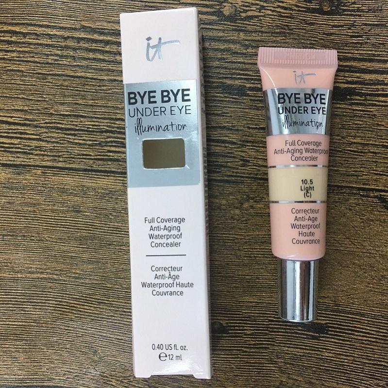 Brand Cosmetics bye bye under Eye makeup under eye primer Full Coverage Waterproof Concealer 0.4 US 12ML