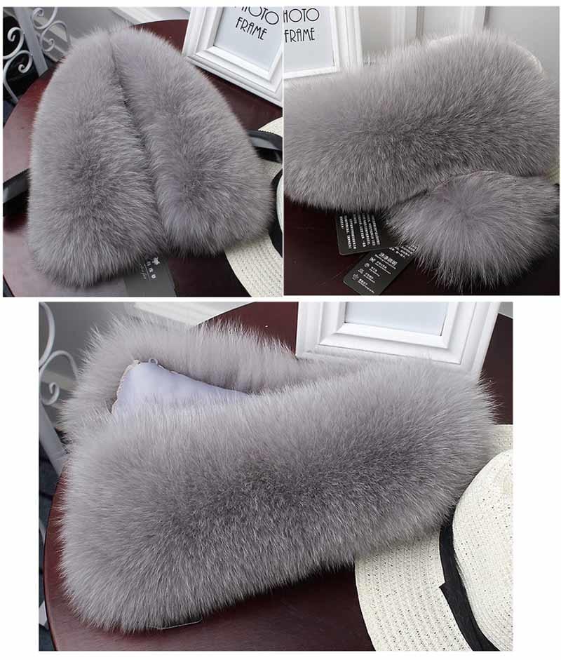 fox fur collar grey 2
