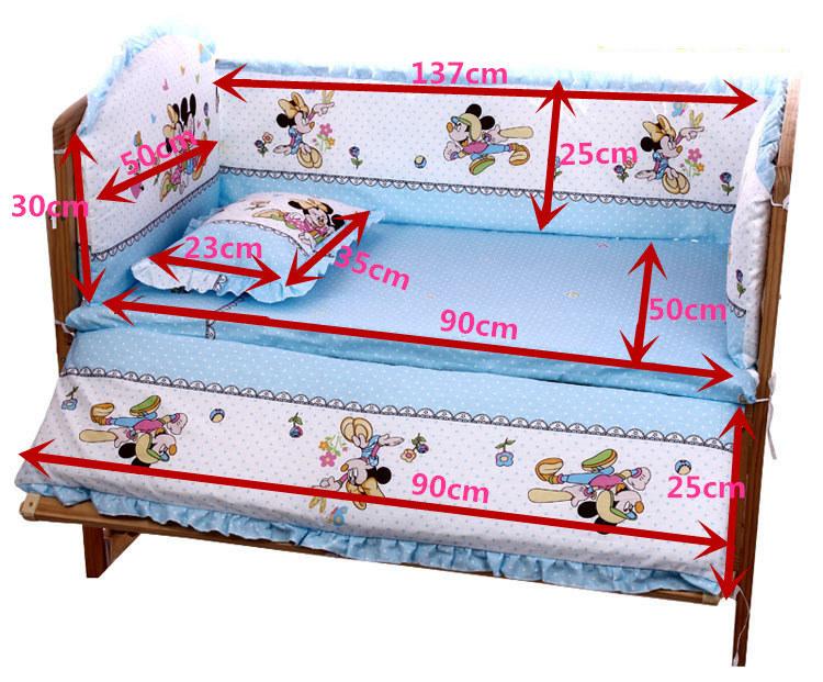 Baby-Bed-Bumper-Cotton-Plush-Baby-Bedding-for-Newborns-Toddle-Children-s-Bed-Around-Linen-Cot