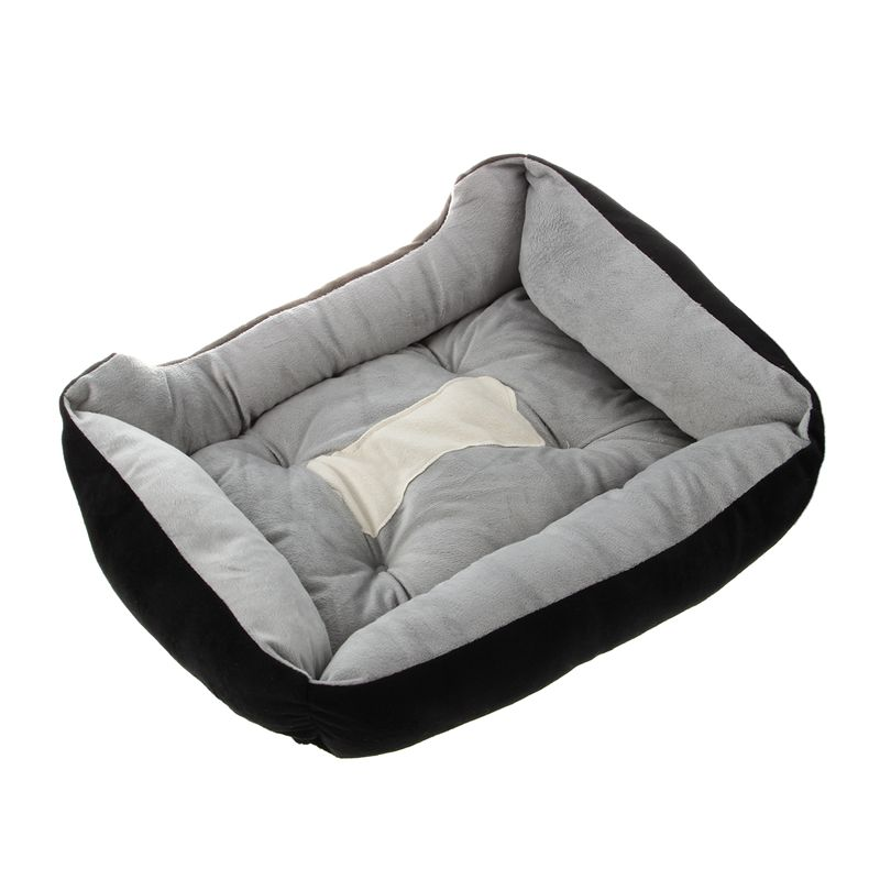 Perro cama Cojín Colchón Impermeable Lavable Mascota Cachorro Gato Cálido Almohada Mat dcuk