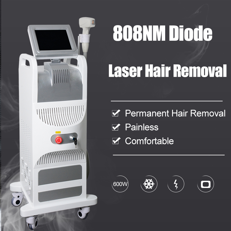 Newest Diode Laser 808nm Hair Removal Machine Soprano Permanent