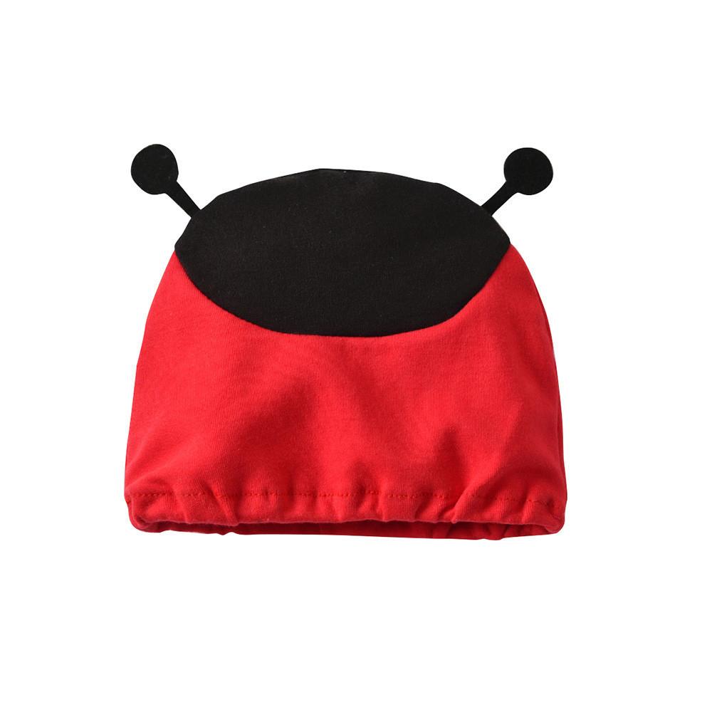 good quality Infant Baby Clothes Set Kids Girls Boy Cartoon ladybird Stripe Jumpsut Cap Vest Sets Clothes roupas infantis menina