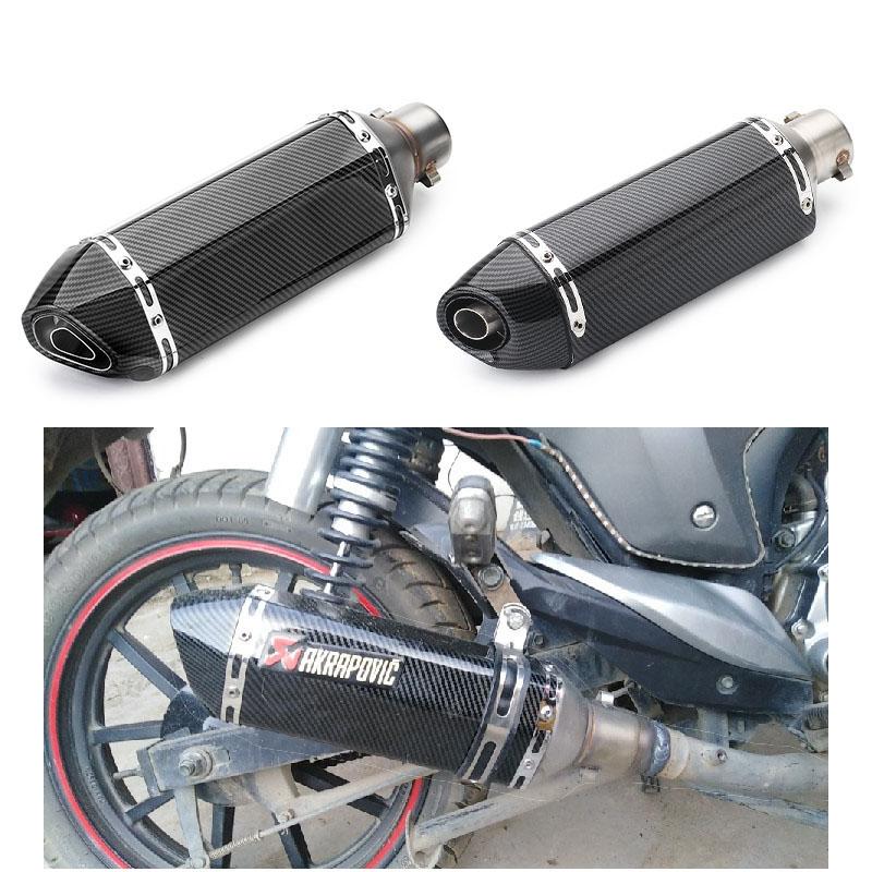 1 PC de escape de la motocicleta tubo catalizador DB Killer Silenciador Escapes en forma for Mivv Akrapovic SC PROYECTO AR GP Twobrothers Yoshimura
