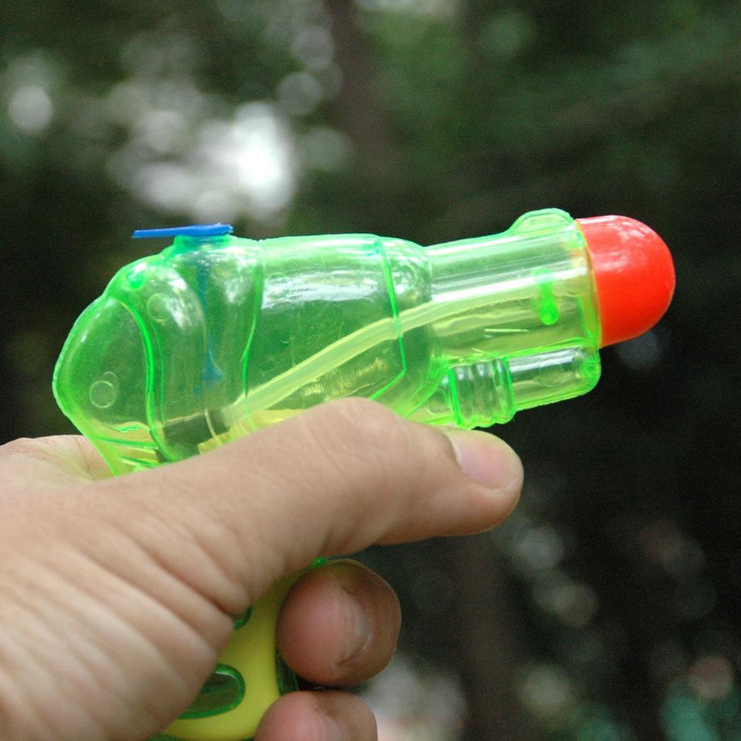Fashion New Mini Portable Cute Children Water Gun Toy Outdoor Interactive Toy Fashion Mini Water Gun Toy