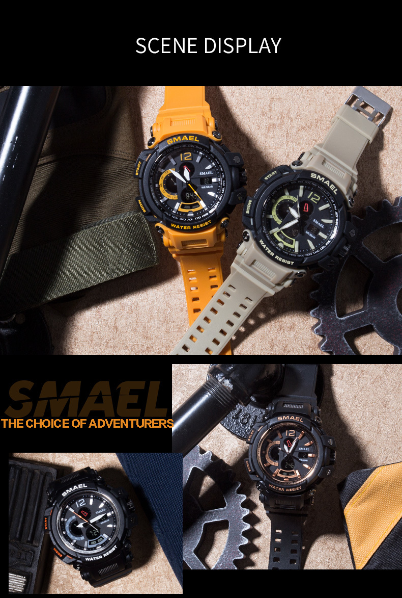 8 electronic wrist watches