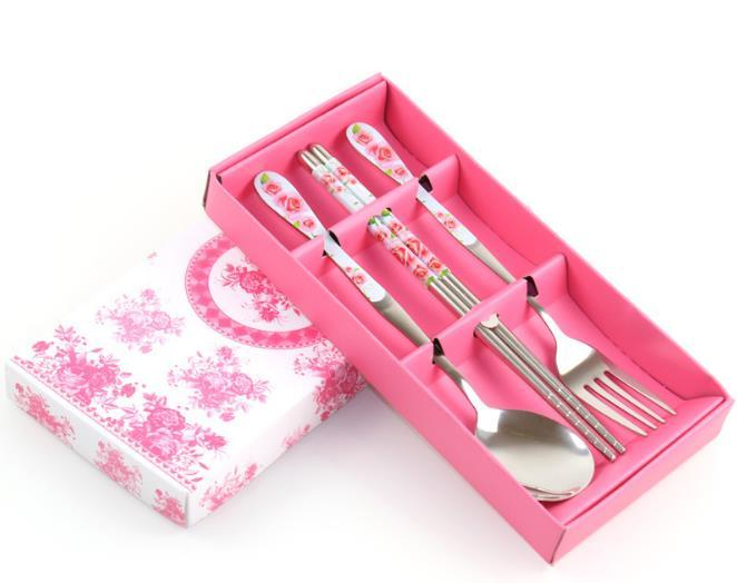 100sets-lot-Stainless-Steel-Spoon-Fork-And-Chopstick-Set-Metal-Tableware-Wedding-Gift-Souvenirs-Free-Shipping (2)