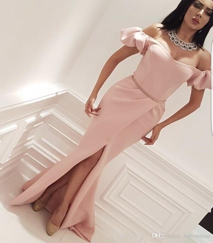 CCBubble Short Homecoming Dresses 2018 Satin Off Shoulder Graduation Dress