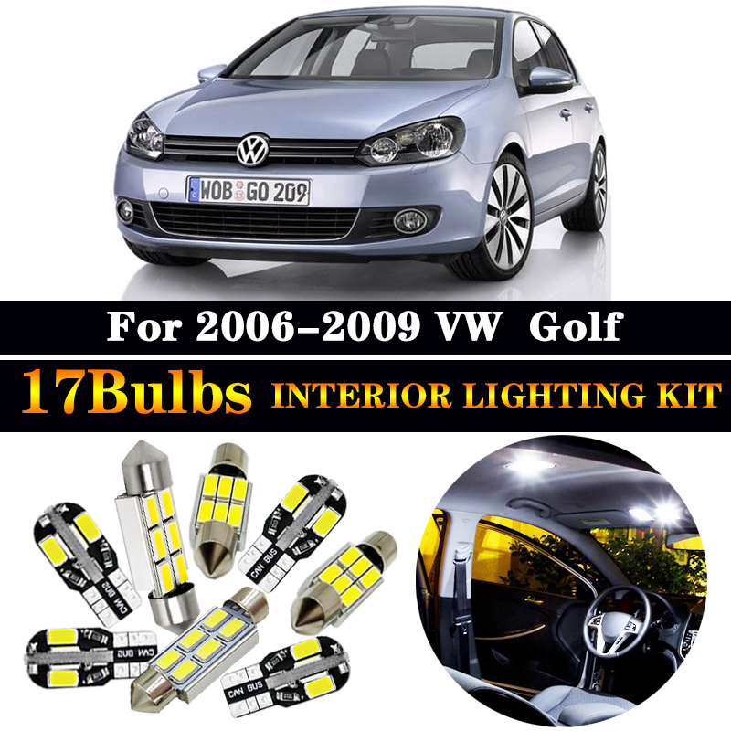 Intérieur plafond led smd ampoules kit bleu can bus fit vw volkswagen new beetle