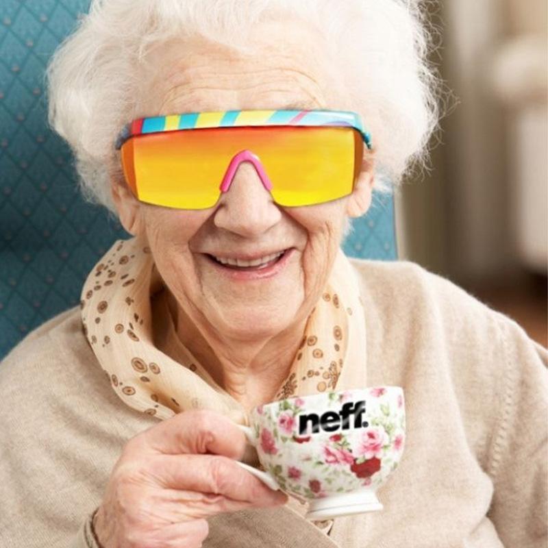 New Fashion Neff Sunglasses MenWomen Brand Designer Glasses Oculos De Sol Sport Street 2 Lens Gafas De Sol De Las Feminino (2)