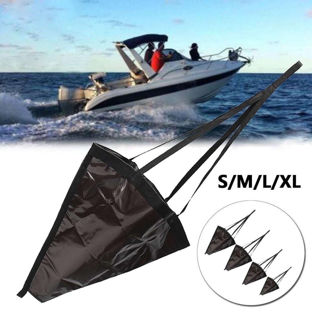 "18/"" Sea Anchor Drogue Drifting Brake Sock Accessory for 12-14ft Marine Boat"