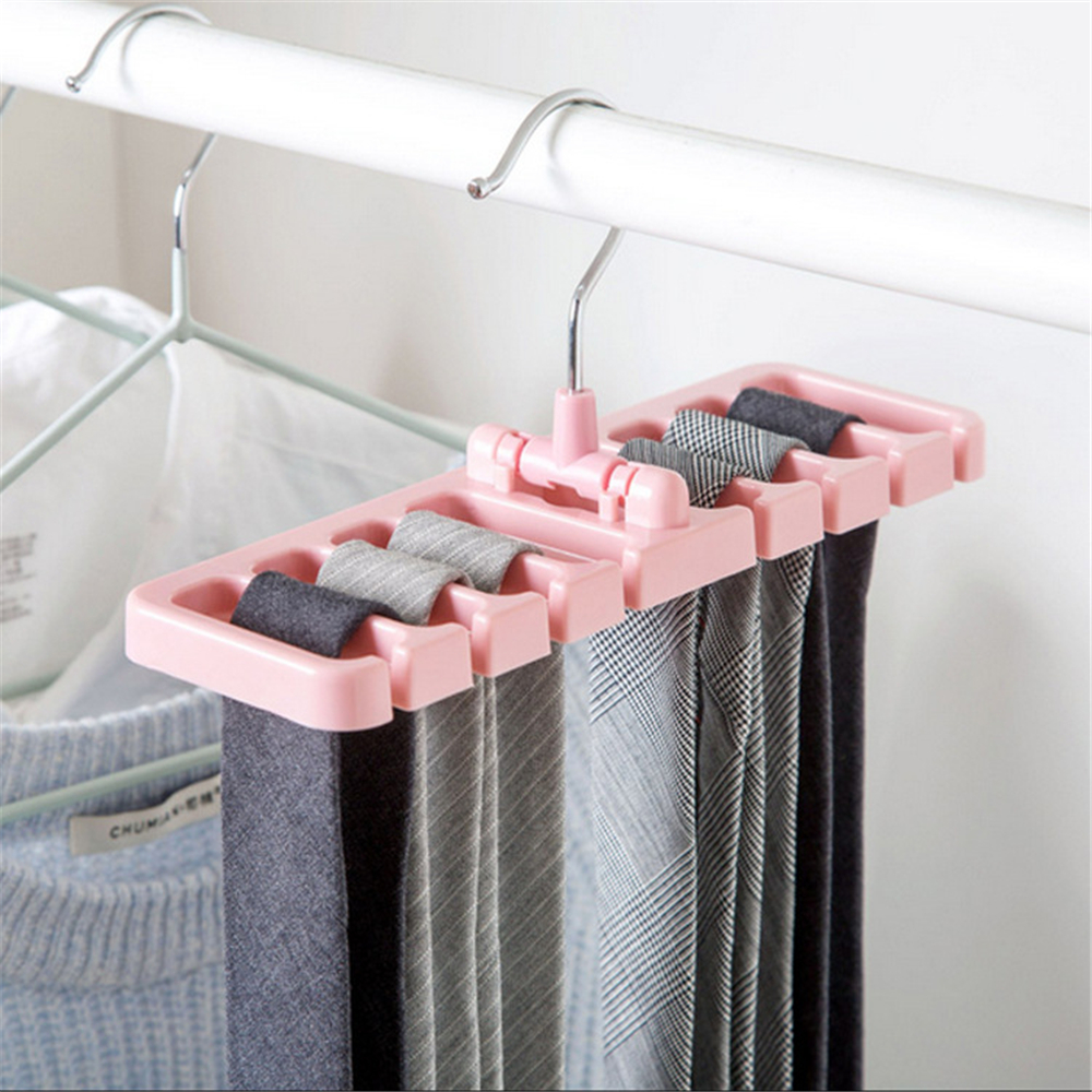 LIYIMENG Belt Storage Rack Hanging Tie Shelf Closet Shelves Organizer Multifunctional Wardrobe Space Saver Scarf Rack 12