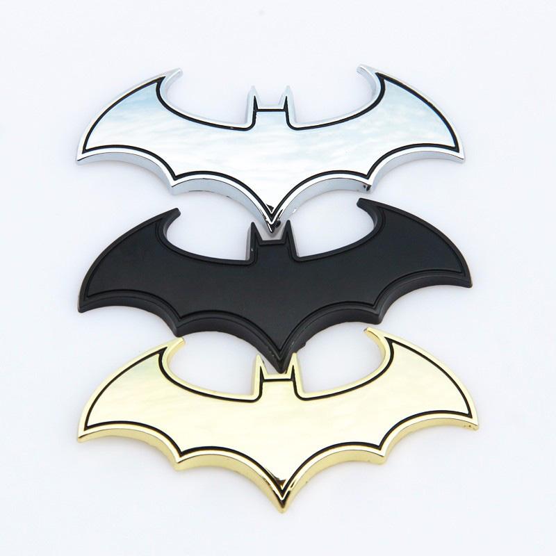 Creative Bat Logo Decoration Car Auto Tail Sticker Scratch Cover For Mazda
