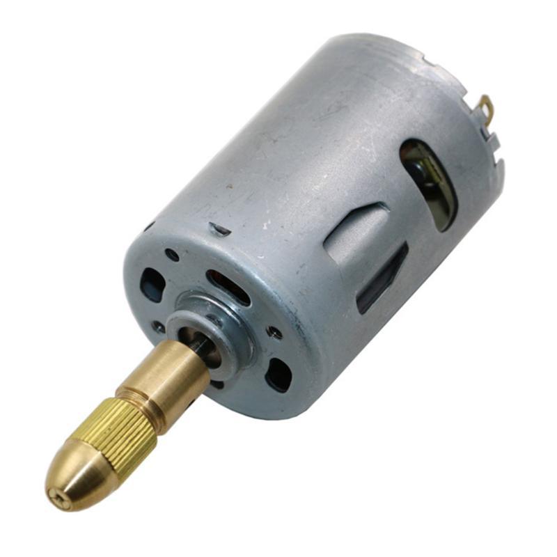 7X Kupfer 0,5-3mm Elektrische Bohrer Spannzange Twist Bohrer Werkzeug Chuck Set