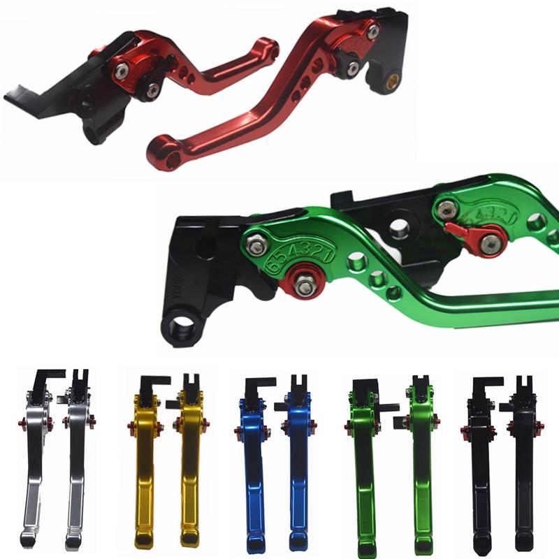 Titanium CNC Motorcycle Brake Clutch Levers For SUZUKI HAYABUSA//GSXR1300 2008 2009 2010 2011 2012 2013 2014 2015 2016