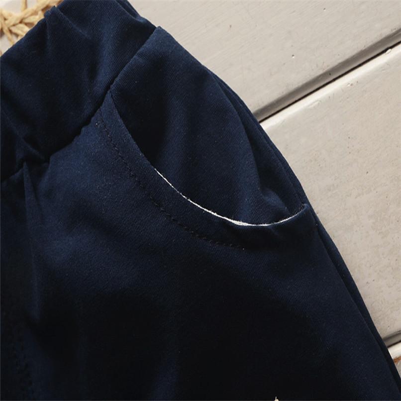 2PCS Baby Clothes Toddler Kids Baby Boys Short Sleeve Beard Print T-Shirt Tops+Letter Shorts Pants Set Boy Sets Clothes M8Y30#F (17)