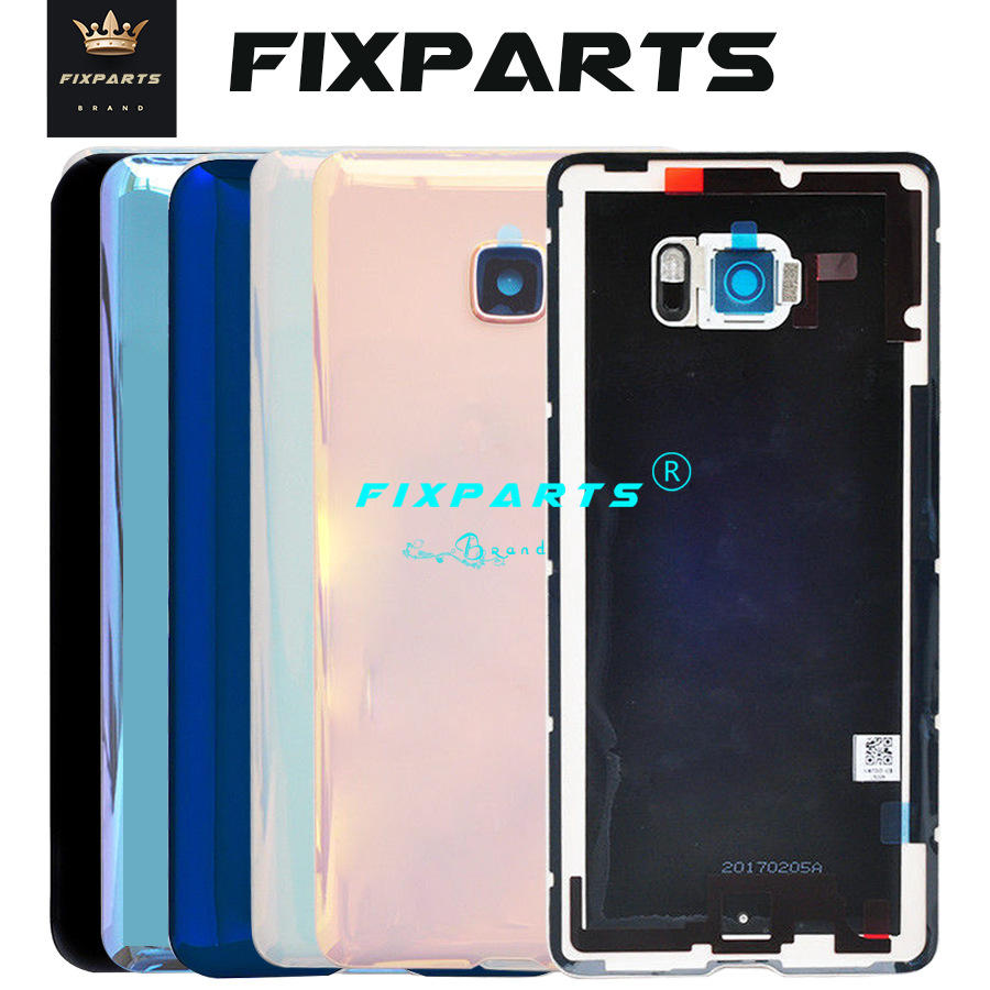 New Original Material Glass Back Rear Housing Door For HTC U Ultra Back Battery Cover Case with Camera Lens (3)