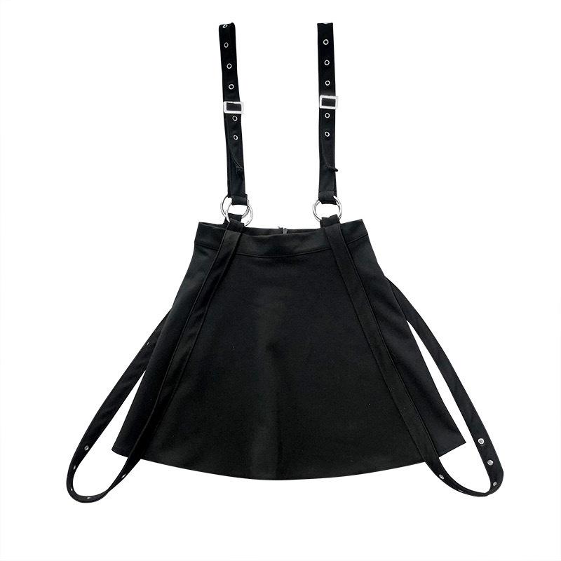 Femmes Gothique Noir OCTOPUS Tentacule Jupe Harajuku taille haute ligne jupe Parti