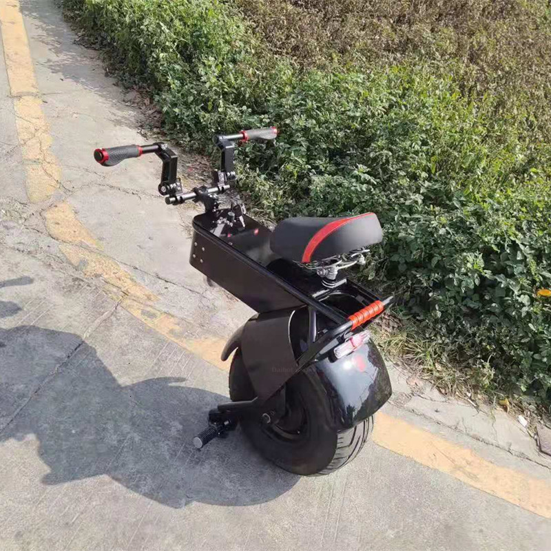 Adult Electric Motorcycle Scooter One Wheel Electric Scooters 18 Inch Fat Tires Portable Electric Unicycle One 1000W 60V 90KM (26)