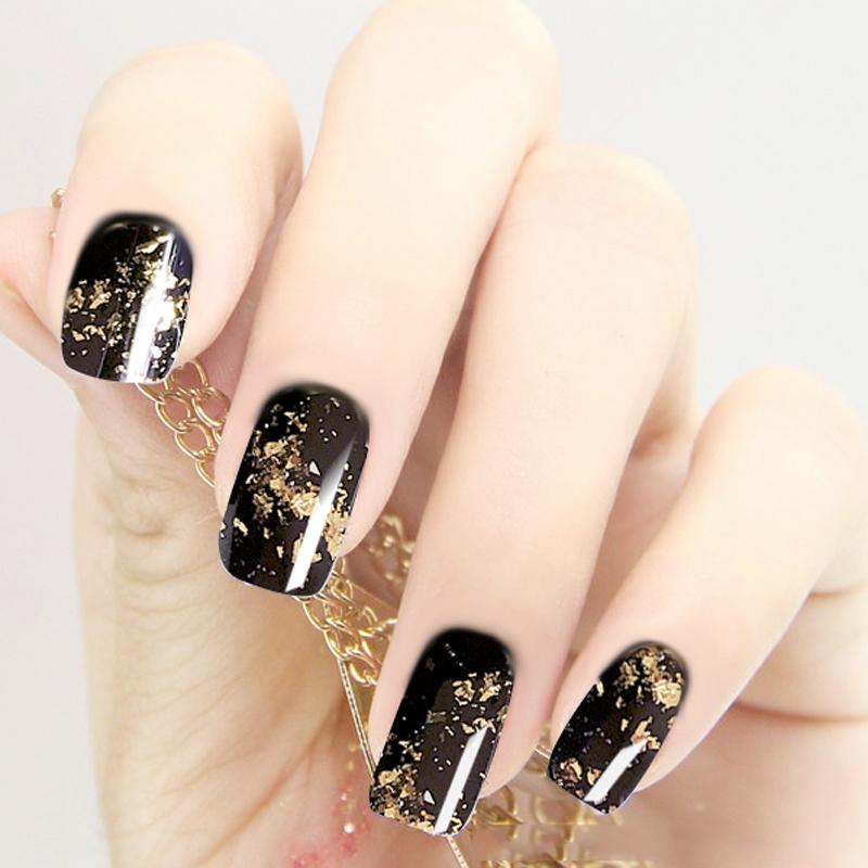 FASHION 1box Gold Silver Nail Art Glitter Powders Mirror Effect Gel Polish Pigment Design Nail Decorations