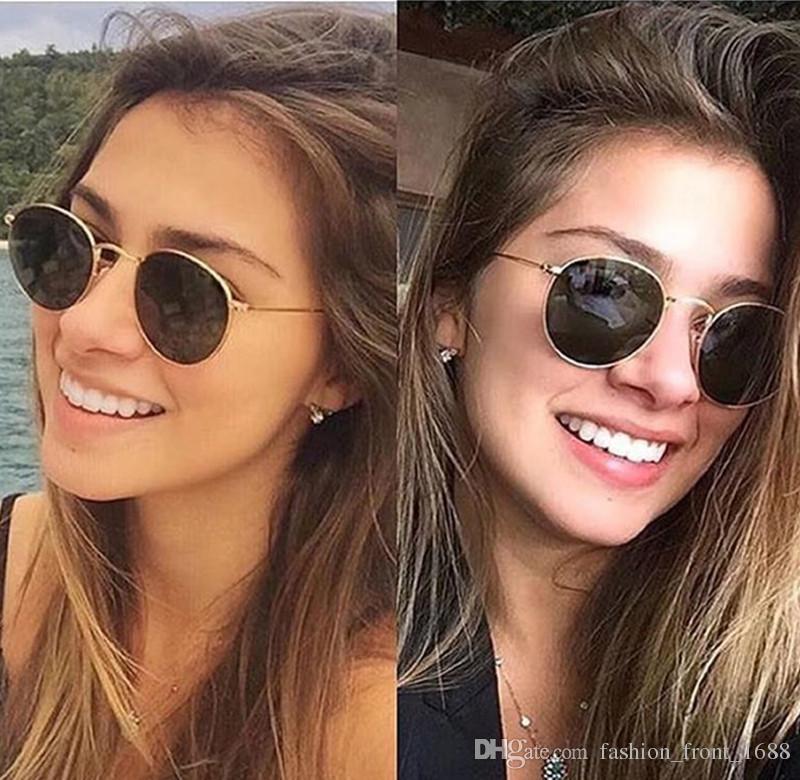 ray ban round metal sunglasses sale