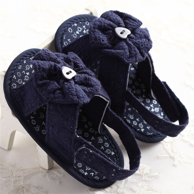 Summer Baby Girl Sandals Toddler Baby Flower Princess Cotton Fabric Sandals Girls Kid Shoes NDA84L25 (8)