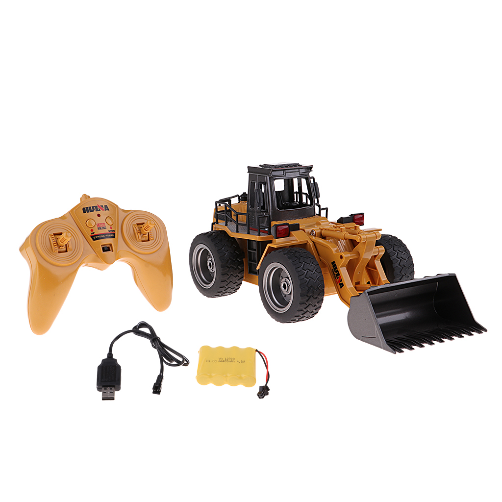 MagiDeal 1:18 Scale Toy Remote Control RC Construction Truck for Boys Girls