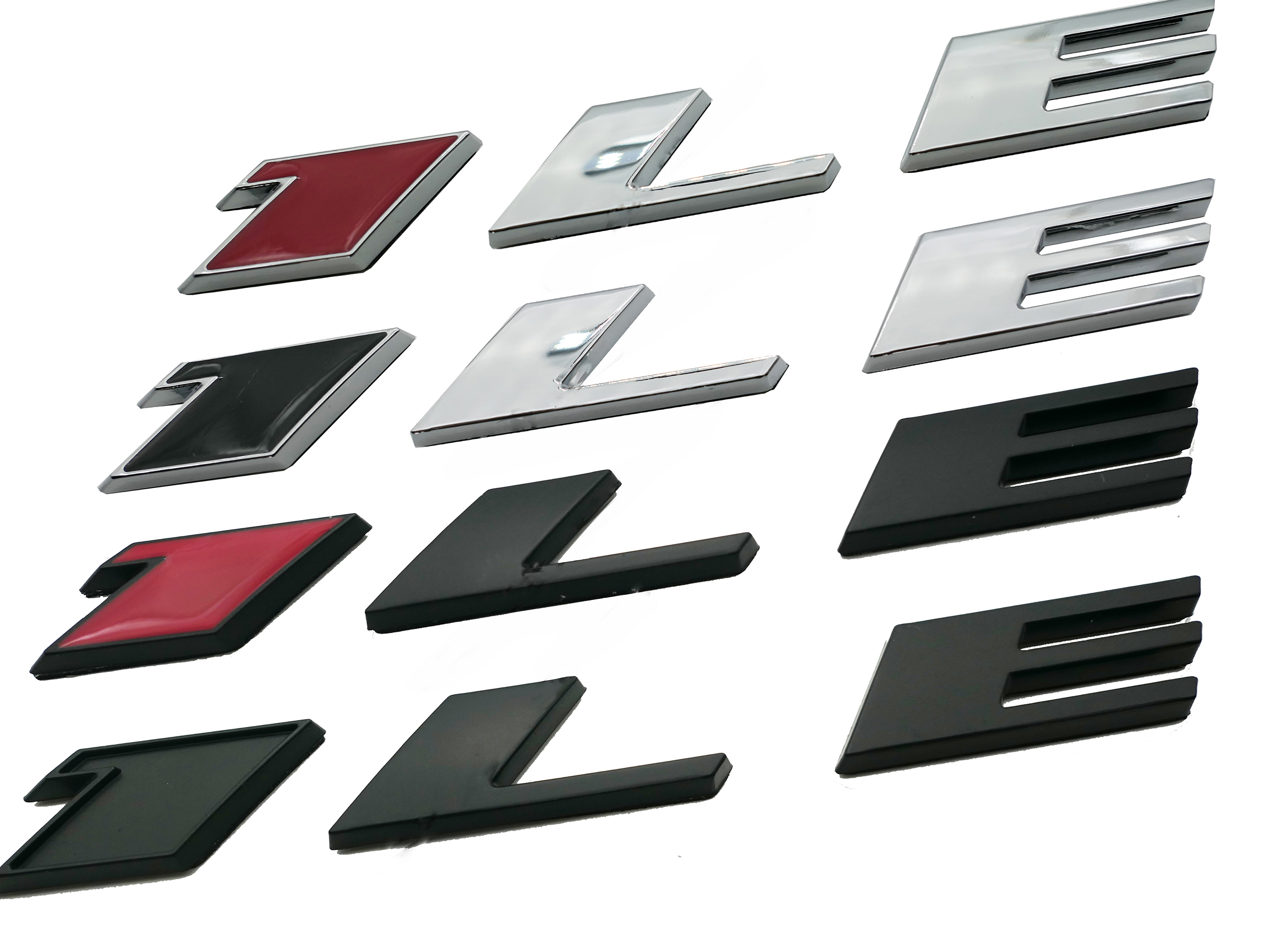 "/""Z28/""Polished Metal 3D Decal Silver Emblem Exterior Sticker For Chevrolet Camaro"