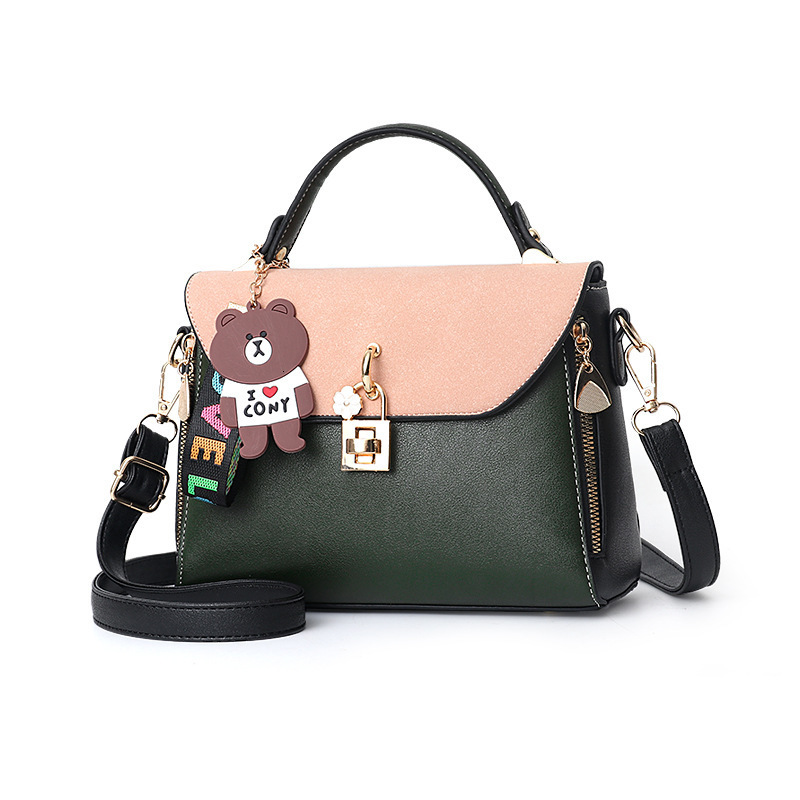 2019 Single Shoulder Span Small Bag Fresh Woman Package Messenger Small Square Package