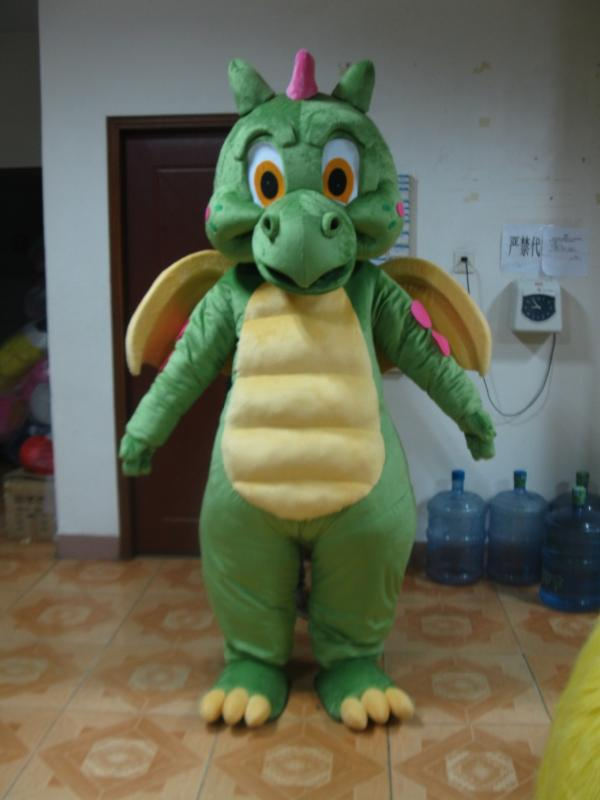 Dragon Mascot Costume Suit Cosplay Party Game Dress Outfit Halloween Adult 2020
