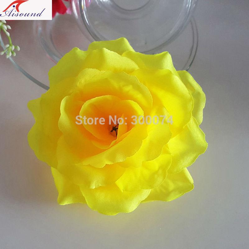 Yellow decorative flowers