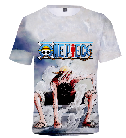 Ruffy Wanted Dead or Alive Damen T-Shirt one Luffy Monkey D piratenbande piece