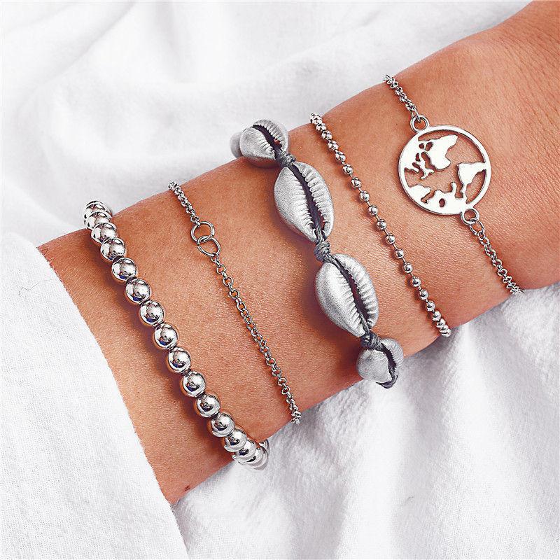 17KM-Bohemian-Heart-Stone-Tassel-Bracelets-Set-For-Women-Bijoux-Vintage-Charm-Bracelet-Bangles-2019-Femal
