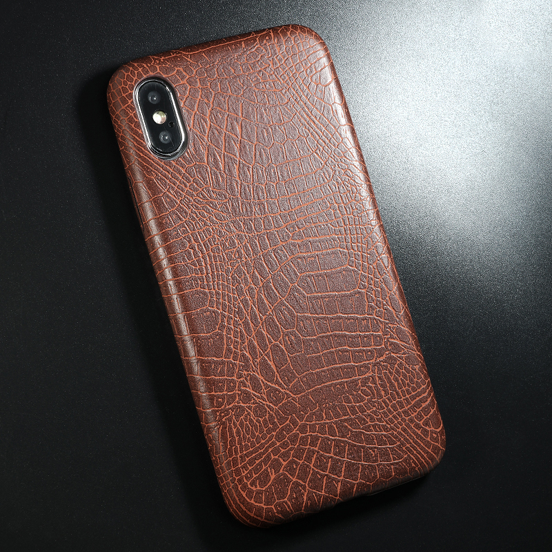 PU Leather Pattern Phone Case for iphone 6 6s 7 8 plus Case Back Cover For iphone X xs max XR Case (8)