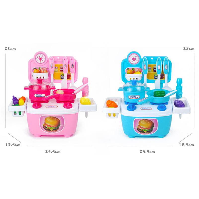 Children's Kitchen Baby Toys Cooking Rice Tableware Plastic Funny Pretend Play Early Education Baby Toy For kids Girl Gift