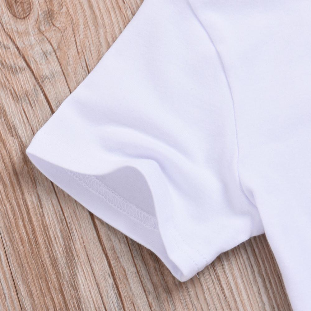 Erkek Kollu T sevimli T-shirt Bebek Kore Baskı Ceket Kısa Yaz Çocuk giyim 2018 Yeni Desen Çocuk Erkek Giymek