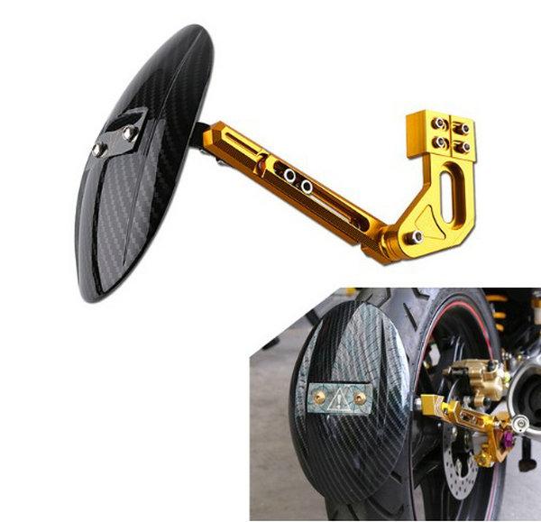 JFG RACING CNC Garde-Boue arri/ère Fender Garde-Boue Moto Fender Support pour Kawasaki Z1000/Z1000sx 2010/2011/2012/2013/2014/2015/2016