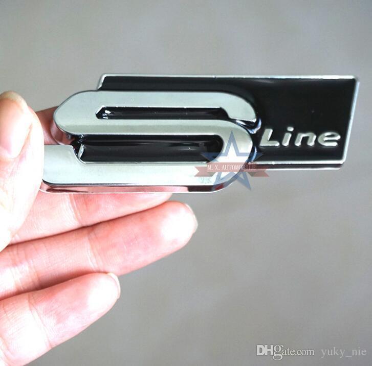 Argento cromato A3 2.0 TDI Scritta Emblema Badge per baule posteriore A3 modella