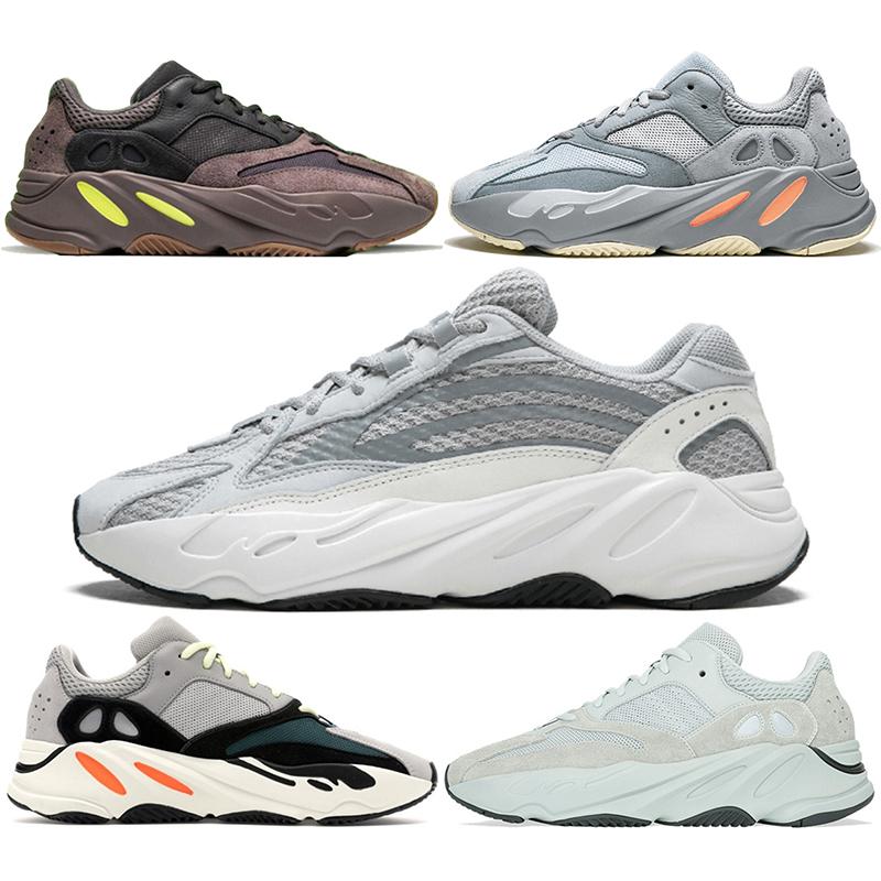 BBoost 700 V2 Running Shoes Men Women Inertia Wave Runner Mauve Static Salt Geode Triple Black White Kanye West New Trainer Sport Sneaker