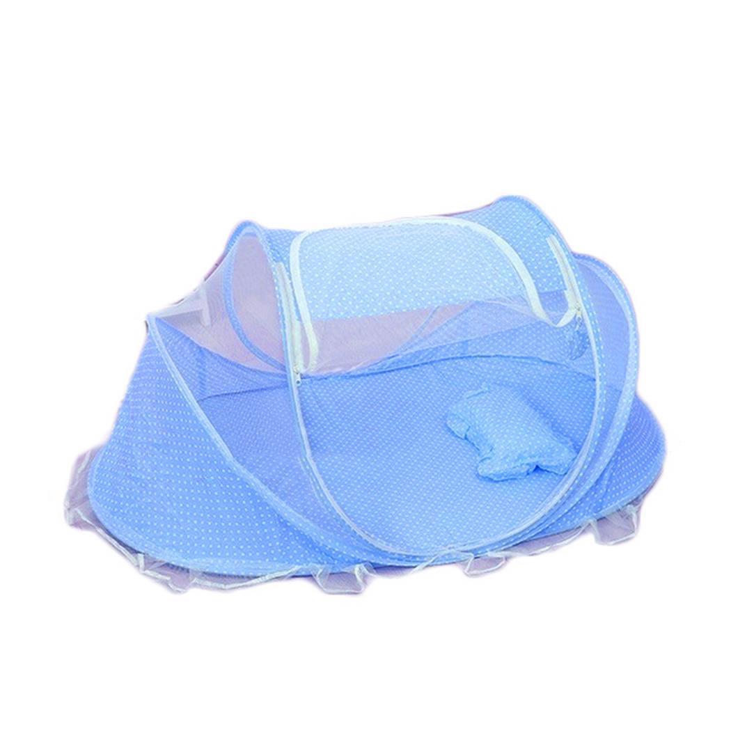 Nova Moda Portátil Dobrável Sólida Fechamento Com Zíper Em Casa Do Bebê Mosquito Net Set Moda Portátil Bebê Mosquito Net Set