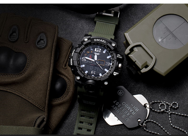 10 clock men waterproof